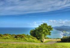Killiney Hill Park. View from Killiney Hill Park, Ireland Royalty Free Stock Photos