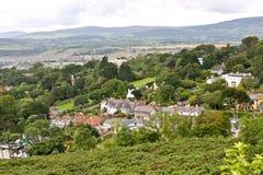 Killiney village, Ireland Royalty Free Stock Photos