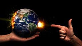 Killing Earth Royalty Free Stock Photo