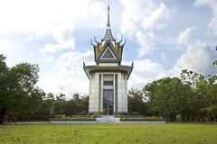 Killing field monument Royalty Free Stock Photo