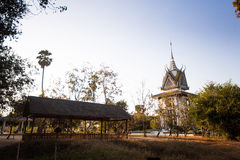 The Killing Fields of Choeung Ek in Phnom Penh, Cambodia Stock Images