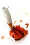 Killing tomato Stock Images