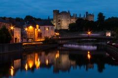 Killkenny Castle at Dusk Stock Images