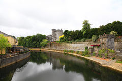 Killkenny slott, Irland Arkivbild