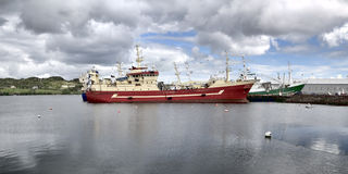 Killybegs hamn Royaltyfria Bilder