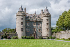 Killyleaghkasteel in Noord-Ierland Royalty-vrije Stock Fotografie
