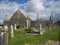 Kilmacduagh, Co. Clare, Ireland Royalty Free Stock Image