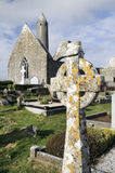 Kilmacduagh monastery Royalty Free Stock Photography