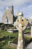 Kilmacduagh monastery Royalty Free Stock Photography