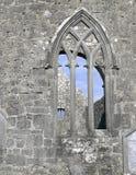 Kilmacduagh monastery Royalty Free Stock Image