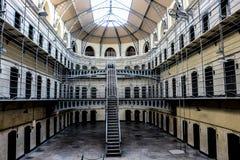 Kilmainham Gaol. A former prison in Kilmainham, Dublin, Ireland, used by British to imprison the Irish revolutionaries royalty free stock image