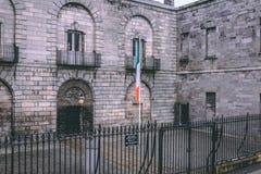 Kilmainham Gaol, une ancienne prison à Kilmainham, Dublin, Irlande photos stock