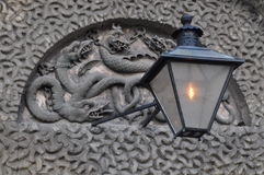 Kilmainham więzienie, bramkowy Dublin Ireland/ Obrazy Royalty Free