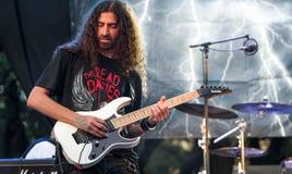 Kilmara gitarrist solo arkivfoton