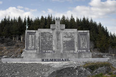 Kilmichael Ambush monument Royalty Free Stock Photography