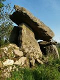 Kilmogue Dolmen. Kilmogue Portal dolmen, Kilkenny, Ireland Stock Photos