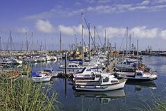Kilmore Quay Harbour Royalty Free Stock Images