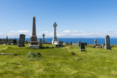 Kilmuir Graveyard Stock Photo