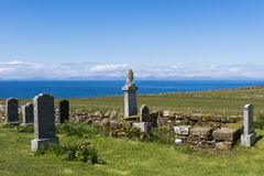 Kilmuir Graveyard View Royalty Free Stock Photo