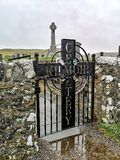 Kilmuir, Scotland - October 25 2019 : Kilmuir cemetry on the Isle of Skye royalty free stock image