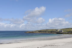 Kilmurvey Beach, Inishmore, Aran Island, Ireland, Europe stock images