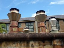 Kiln Chimneys Royalty Free Stock Images