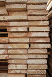 Kiln-Dried Timber Planks. Close-up of kiln-dried timber planks, suitable as background Royalty Free Stock Photo