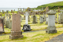 Kilnaughton Chapel Ruins. Royalty Free Stock Images