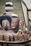kilnkrukmakeri Fotografering för Bildbyråer