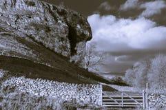 Kilnsey Crag zdjęcie stock