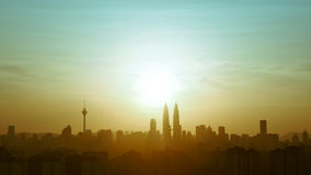 Kiloliter Skyline Stockfotografie