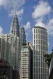 Kiloliter Stadtbild Stockbild