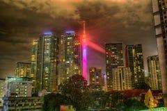 Kiloliter Turm und Kuala Lumpur Stockfoto
