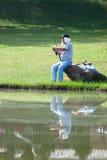 Kilolitre de territoire fédéral de concurrence 2012 de pêche Image stock