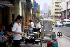 Kilolitro Chinatown Fotos de archivo