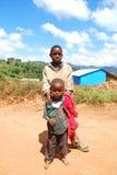 Kilolo山的孩子在坦桑尼亚-非洲47 免版税库存照片