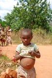 Kilolo山的孩子在坦桑尼亚-非洲33 免版税库存图片