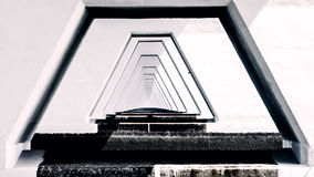 5 kilomètres Zeelandbrug long, Zélande, Pays-Bas Photographie stock