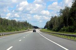 167. kilometer av huvudvägen M-7 Arkivfoto