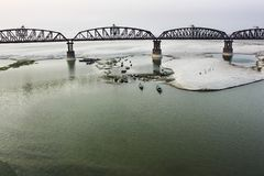Hardinge Bridge stock photo