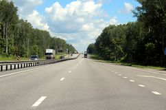 134 kilometers from Moscow. Royalty Free Stock Images