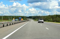 206 kilometers from Moscow. Stock Photos