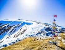 100 kilometerweg Ak Dovurak Abaza Royalty-vrije Stock Foto