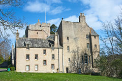 Kilravock Castle. Was built about 1460 and is situated near Croy in Morayshire and  has been occupied by Clan Rose ever since. Bonnie Prince Charlie, Mary Queen Royalty Free Stock Photos