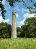 Kilree Round Tower. Ancient Round Tower at Kilree, Kilkenny, Ireland Stock Photography