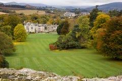 Kilruddery之家&庭院。 全景。 爱尔兰 免版税图库摄影