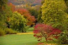 Kilruddery之家&庭院。 秋天。 爱尔兰 免版税库存图片
