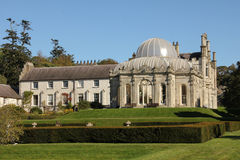 Kilruddery House & gardens. Ireland. Killruddery it has been home to sixteen generations of the Brabazon family. built in a Tudor Revival style in 1830 Stock Image