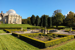Kilruddery hus & trädgårdar. Irland fotografering för bildbyråer