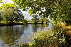 Kilsheelan.River Suir Royalty Free Stock Photography